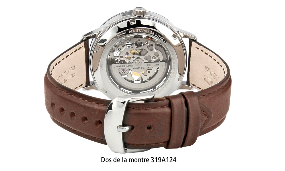 Dos de la montre 319A124