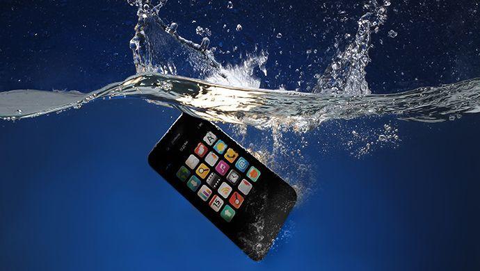 Votre téléphone est tombé dans l'eau ?